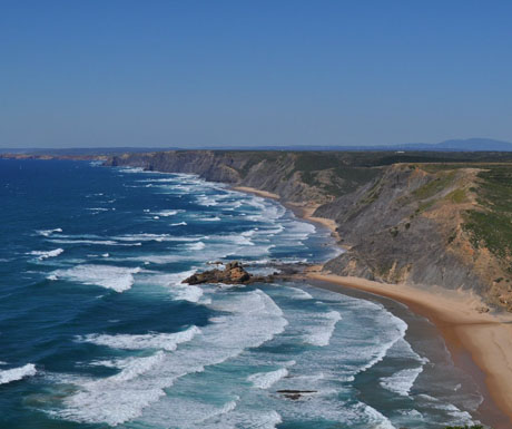 Surfing in the Algarve
