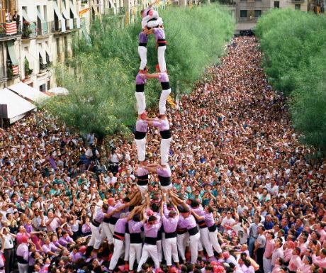 Tarragona City of Human Castles