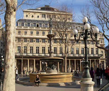 The Comedie francaise