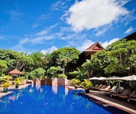 Victoria Angkor - pool