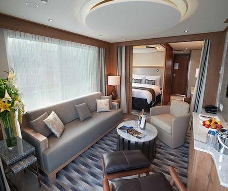 Viking spacious suite