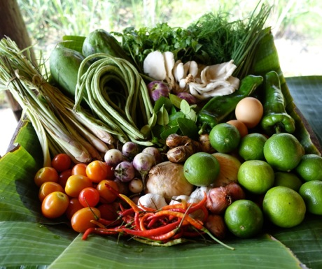 Cant Miss Experiences in Luang Prabang Laos-Ingredients for Lao Cooking Class