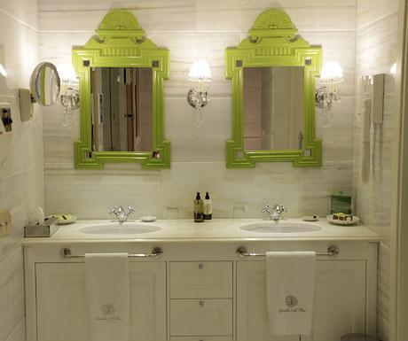 Elounda Gulf Villas villa vanity unit