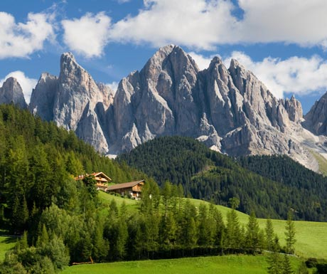 Landscapes in South Tyrol