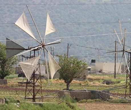 Lasithi Plateau windmills