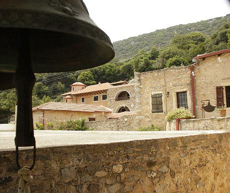 Monastery on the way out of Neapoli heading towards Lasithi Plateau