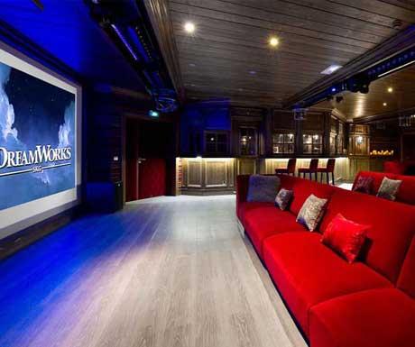 Private Cinema at Hotel K2