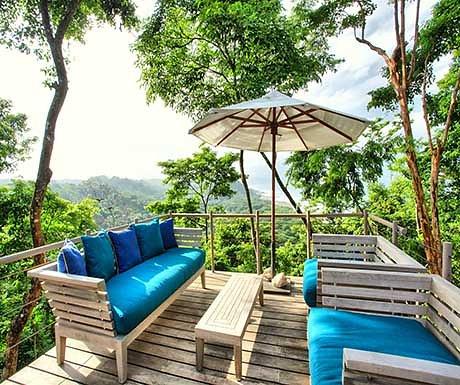 Rancho Cielo front deck