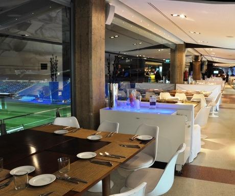 Real Madrid Santiago Bernabeu Stadium cafe