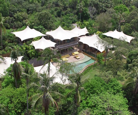 Soneva Kiri - 5 bedroom private beach pool reserve villa