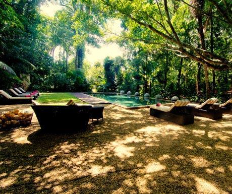 The Wallawwa, Gardens and Pool