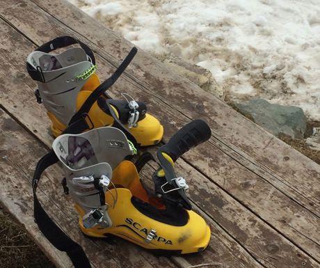 Zermatt-Ski touring boots