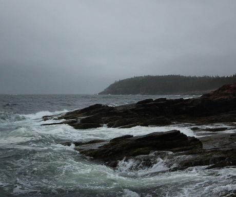 Acadia's wild and beautiful coastline