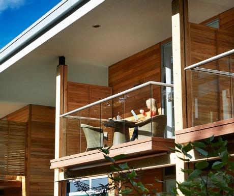 Cedar Lodge balcony