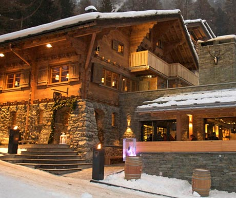 Hotel Cervo on the slopes