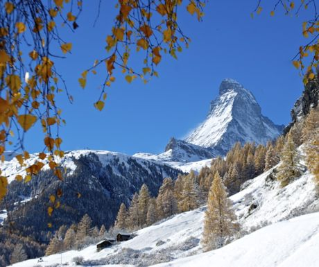 Zermatt autumn