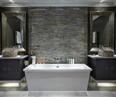 Great Dixters Duplex Master Suite bathroom