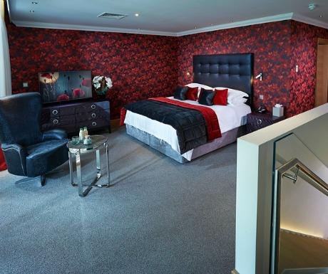 Great Dixters Duplex Master Suite bedroom