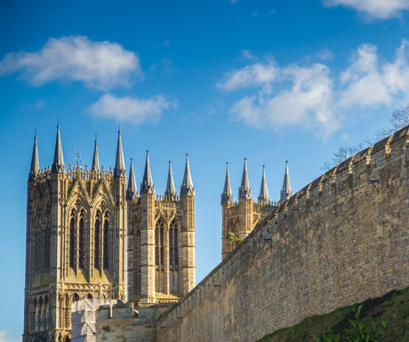 Lincoln Castle and Cathedral