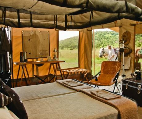 Luxury riding accommodation - Singita