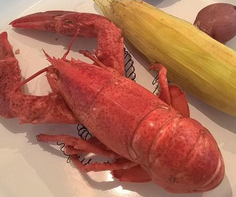 Enjoy a Maine lobster supper