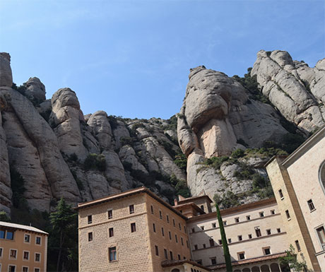 Montserrat's unusal rocks