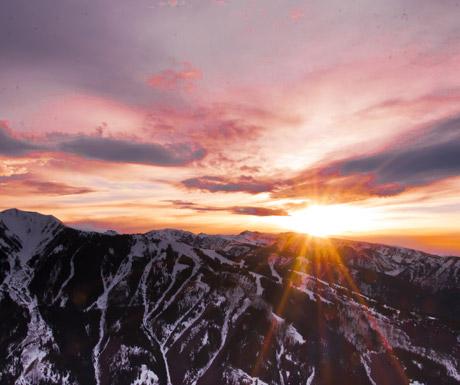 Paragliding in Aspen Snowmass