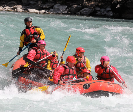 Rafting in the Southern French Alps