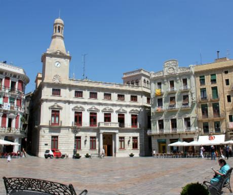 Reus Plaza de Mercadal Town Hall