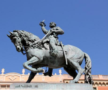 Reus statue of General Joan Prim