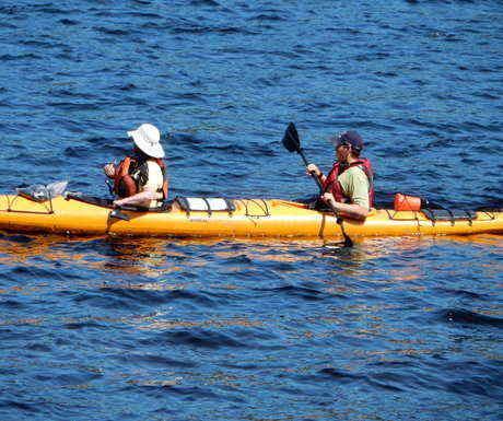 Saguenay Fjord kayaking