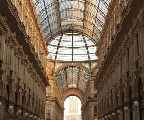 The Galleria Vittorio Emanuele II