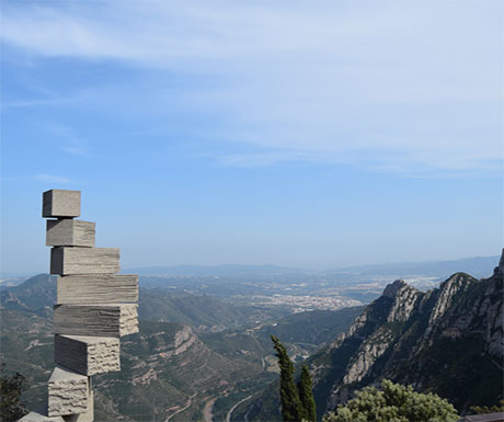 View from Montserrat