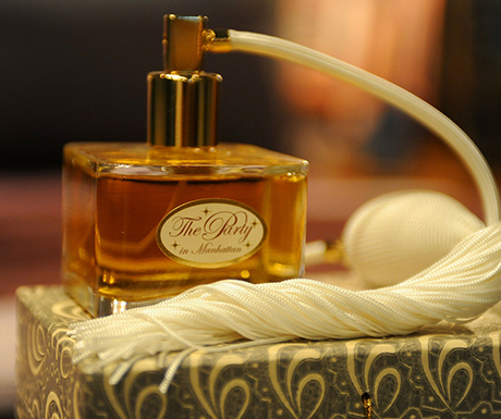 avoid potent perfume or cologne