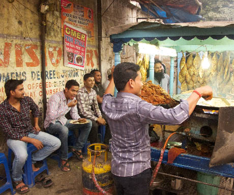 10. Food tour of Calcutta; stay at the Oberoi Grand