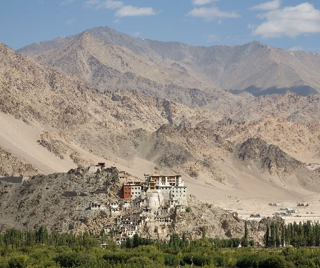 2. Explore the soul-stirring scenery of Ladakh; stay at The Ultimate Travelling Camp