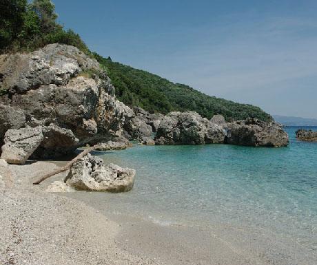 4. Agios Sostis Beach