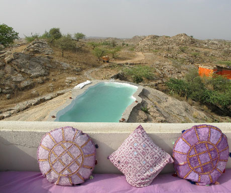 5. Discover a candy-coloured gem in the desert; stay at Lakshman Sagar