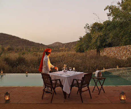 8. Go glamping in a 1920s-style colonial tiger camp; stay at Sher Bagh