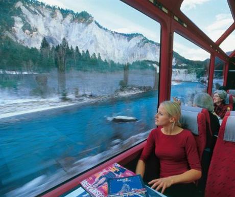 Glacier Express scenery