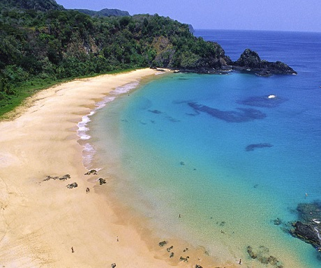 Baia do Sancho - crowned the 'Worlds Best Beach' by Trip Advisor