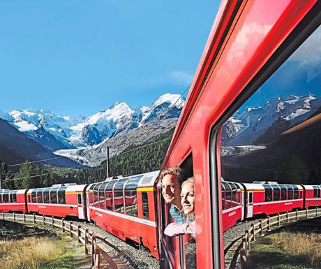 Best way to see the Alps