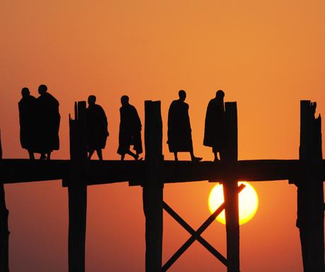 Burma-sunset