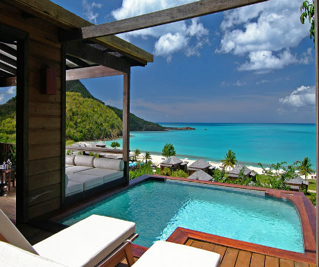 Hermitage Bay Pool Suite
