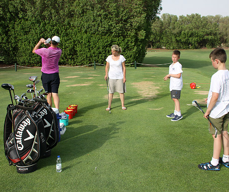 JA Palm Treet Court golf tuition