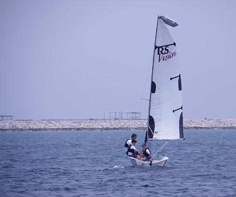 JA Palm Treet Court sailing
