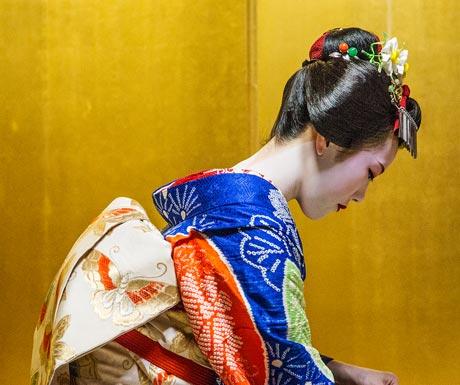 Meet one of Kyoto's mysterious geisha