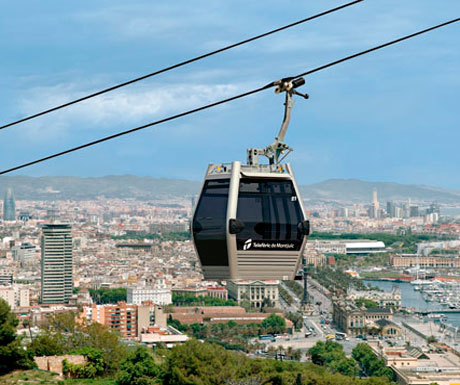 Montjuic has some of the best views over Barcelona