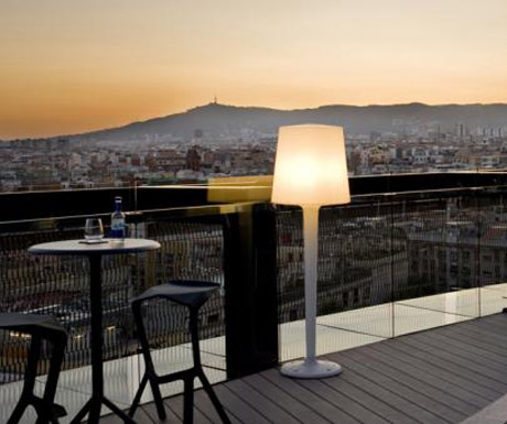 Raval Barcelo Hotel has an awesome terrace