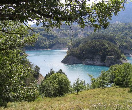 The Lac du Sautet